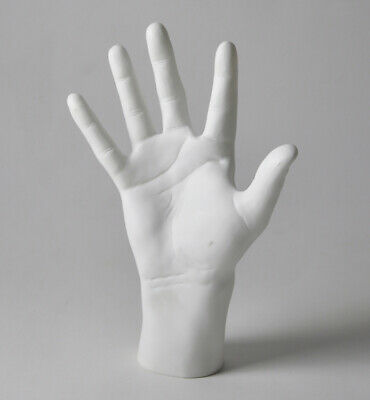 New 1pc Men Mannequin Hands Arms Display Gloves Jewelry Five Fingers Open Hand