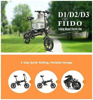 250W Folding Electric Bicycle E-Bike 7.8Ah/10.4Ah Grey/White/Black 25km/h J0E3