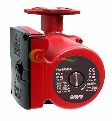 34gpm 3 Speed Circulating Pump Use Woutdoor Furnaces Hot Water Heatsolar 115v
