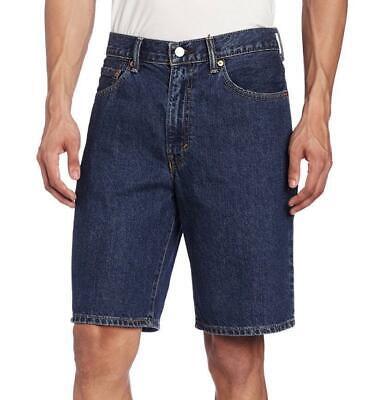 Levi's 550 Men's Classic Premium Cotton Denim Shorts Dark Stonewash - Levi Classic Shorts