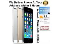 """iphone 5S 16GB """"B"""" Grade Free Delivery REf 2909"""