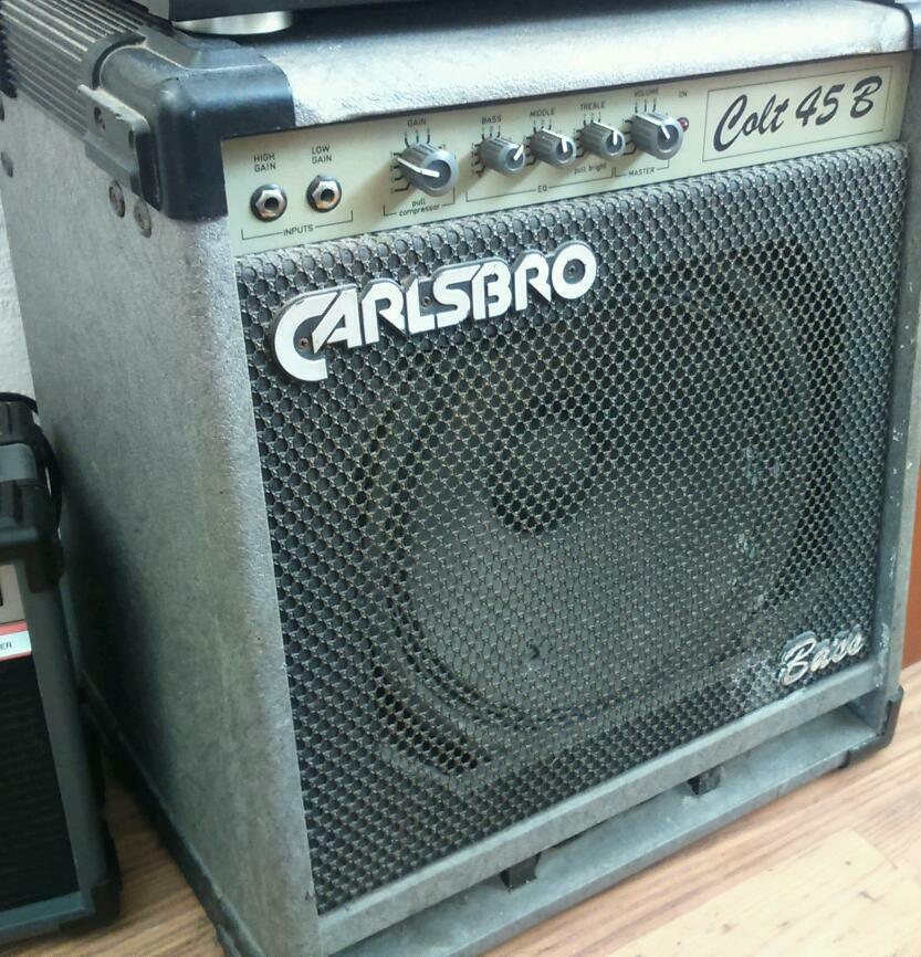 carlsbro colt 45 bass guitar amp in brighton east sussex gumtree. Black Bedroom Furniture Sets. Home Design Ideas