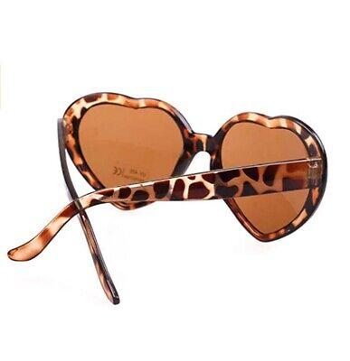 Polarized Heart Shaped Sunglasses For Woman Leopard Print. New (Leopard Sunglasses)