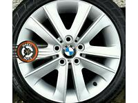 "17"" Genuine BMW/BBS alloys, excellent condition, with good tyres."