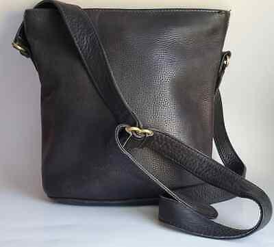 Vtg Coach Sonoma Hobo Shoulder Bag 4907 Bucket Bag Black Pebbled Leather Purse