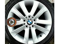 """17"""" Genuine BMW/BBS alloys, excellent condition, with good tyres."""