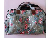 Floral changing bag