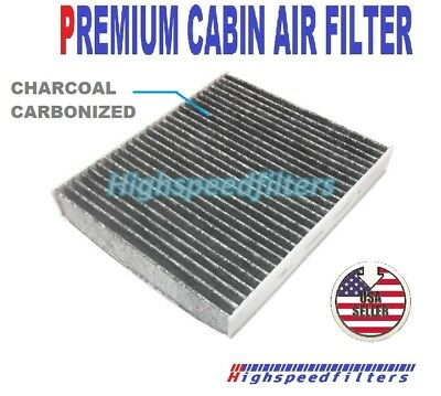 C45654 PREMIUM CHARCOAL CABIN AIR FILTER FOR CADILLAC CTS CTS-V STS STS-V SRX