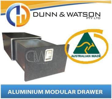 Dunn & Watson Aluminium Cargo Drawers (4wd, 4X4, Vehicle, System)