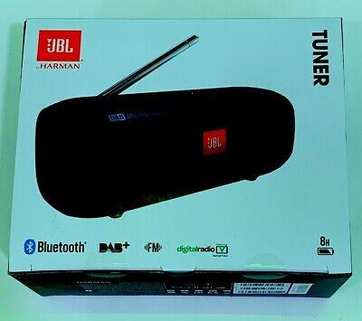 JBL Tuner tragbarer Bluetooth-Lautsprecher mit DAB/UKW-Radio Schwarz #1199463