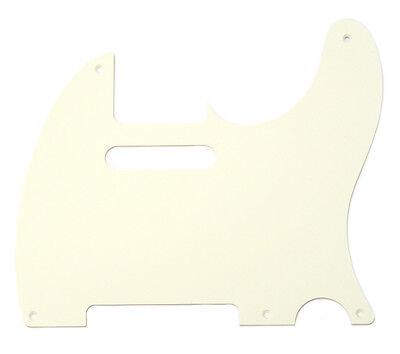 Parchment 1-ply Pickguard for Vintage 5-hole Fender Telecaster/Tele® PG-0560-051