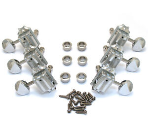 Genuine Gretsch Electromatic Series 3x3 Vintage Style Guitar Tuners 006-2706-000