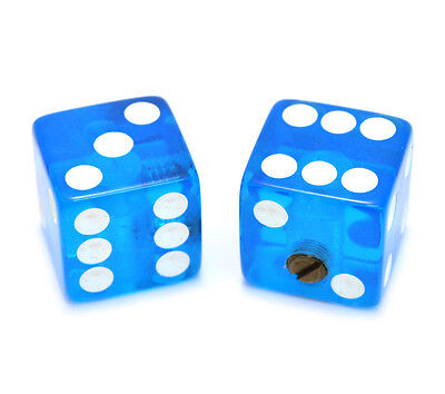 - PK-3250-068 Transparent Blue Dice Knobs for Guitar/Bass Custom Hot Rod!