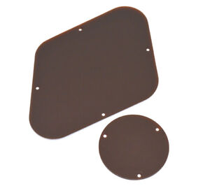 Brown Back/Switch Plate Backplate Set for USA Gibson Les Paul® PG-0814-036