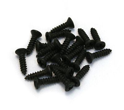 ((20) Black #3 Pickguard Screws for Gibson® Guitar/Bass GS-0050-003)