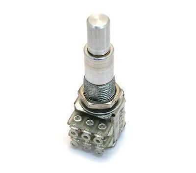 (1) Dual 500k/500k Audio Taper Concentric Mini Guitar/Bass Control Pot MSP-500