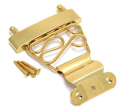 Gold Short Deluxe 4-string Bass Guitar Trapeze Tailpiece BTP-SDT-G