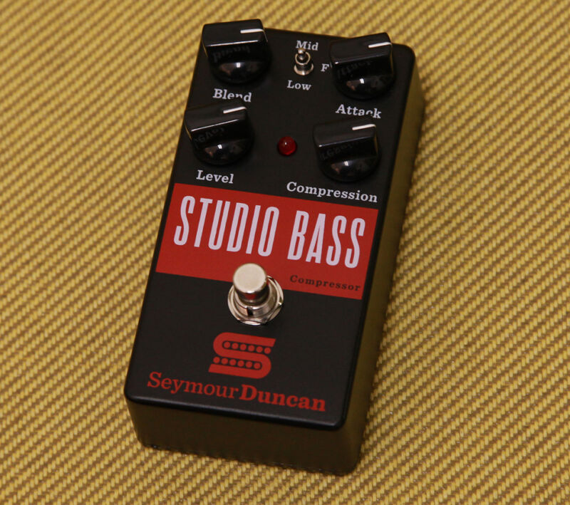 11900-007 Seymour Duncan Studio Bass Compressor 4 Knob Pedal Stompbox