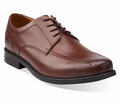 Clarks Beeston Stride Mens Brown Leather Casual Shoes Style   26103171