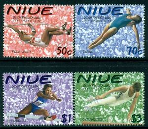 NIUE-Sc748-51-SG881-84-Used-2000-Olympics-set-of-4-SCV-5