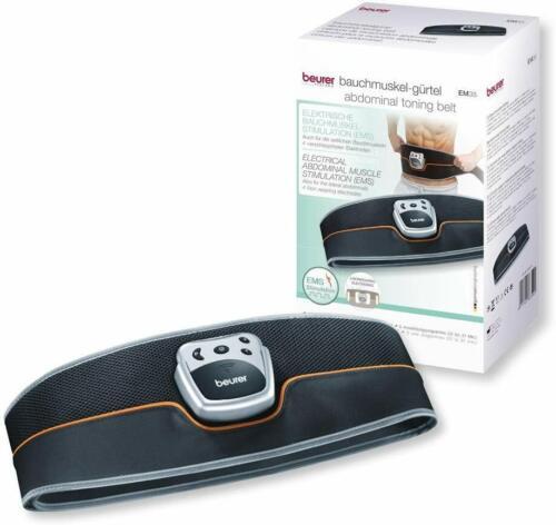 Beurer EM 35 Bauchmuskel-Gürtel, EMS Training, 4 Kontaktelektroden auch für die