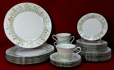 Oxford Lenox China Country Lane Pattern 29 Piece Set Or Lot Dinner Salad Bread