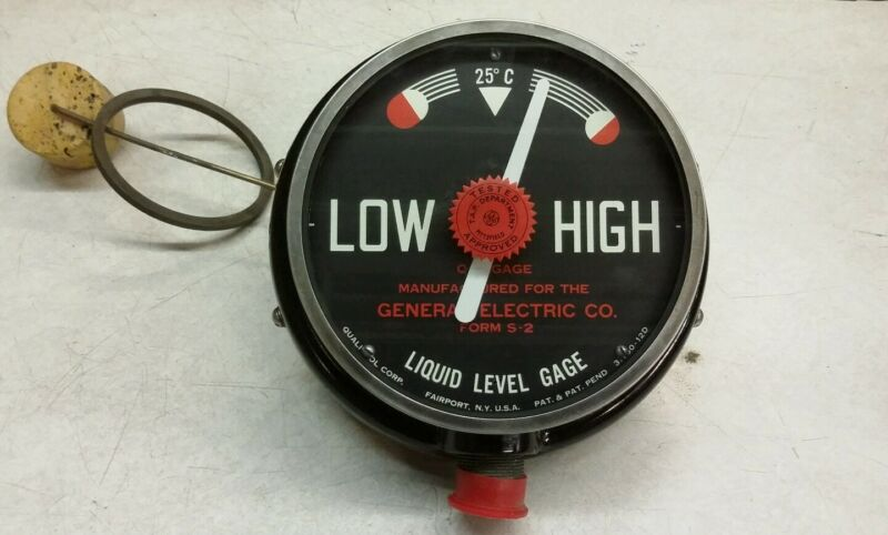 General Electric Form S-2 Liquid Level Gage