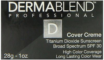 Dermablend Professional Cover Creme SPF 30 - 1 oz - Rose Beige (Chroma