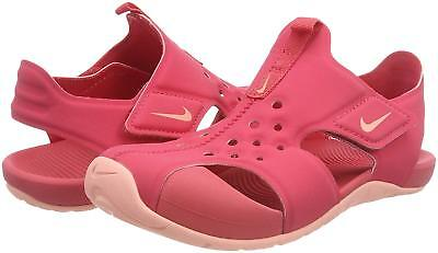 New Nike Kids Girls Sunray Protect 2 (PS) Sandals Sizee 2Y 3Y 943828 - Nike Girls Sandals