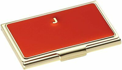 Kate Spade One In A Million Initial Business Card Holder Red - Initial J