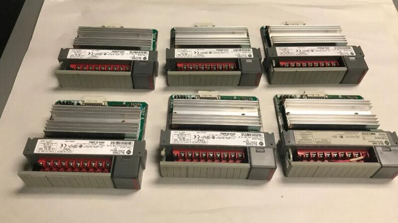 Allen Bradley 1746-OA16 Output Module Lot of 6