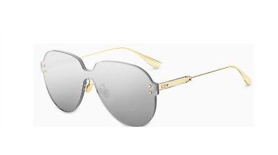 e77d6ab863be9 Authentic Christian Dior Color Quake 3 YB7T4 Gold Sunglasses
