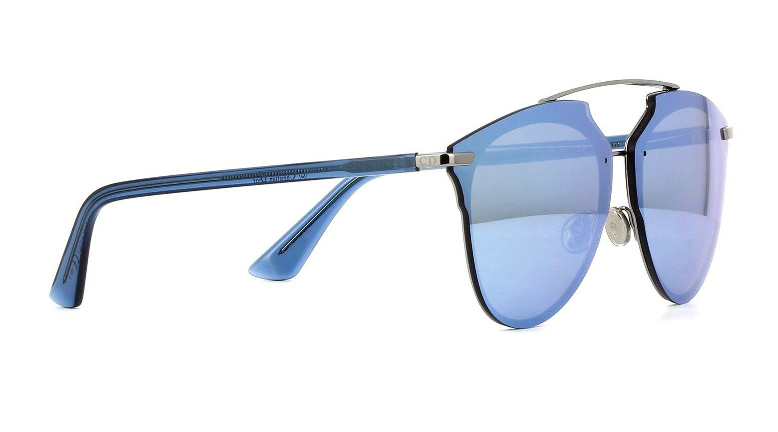 2ba085585ef ... Christian Dior REFLECTED P PIXEL ruthenium blue blue pixel mirror  Sunglasses фото ...
