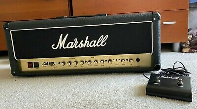 1997 MARSHALL JCM 2000 DSL 50 HEAD IN EXCELLENT CONDITION with footswitch