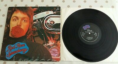 Wings (Paul McCartney) - Red Rose Speedway 1973 Gatefold LP