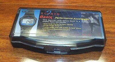 Acumen Basix Performance Accelerator Heart Rate Monitor Wrist Watch   Read