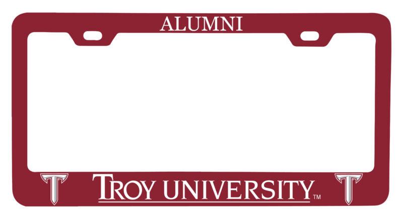 Troy University Alumni License Plate Frame New for 2020
