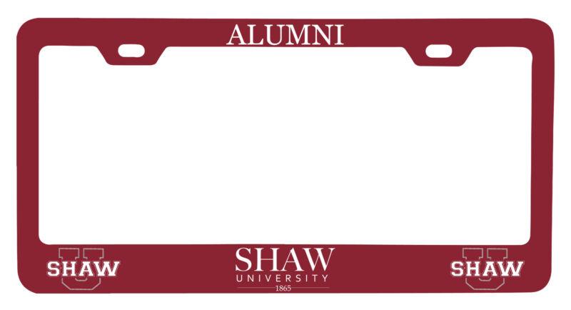 Shaw University Bears Alumni License Plate Frame New for 2020