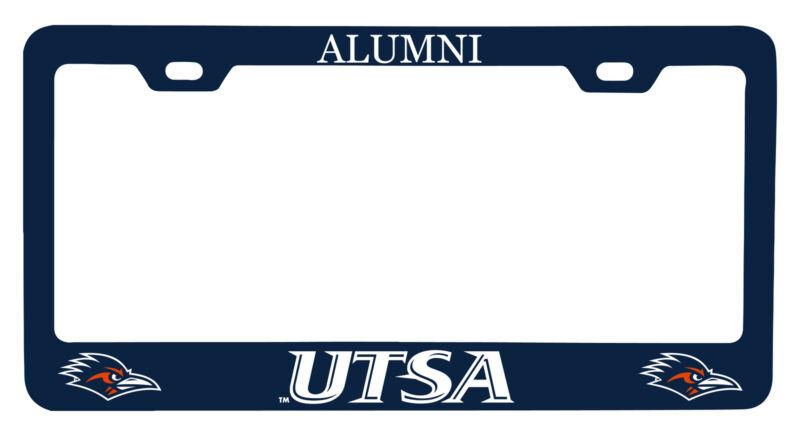UTSA Road Runners Alumni License Plate Frame New for 2020