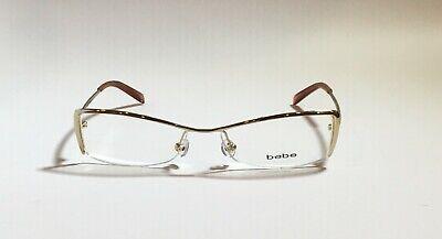 BeBe SIREN Eyeglasses  Gold Glow  NEW! - Glow Eyeglasses