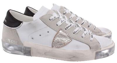Women's Sneakers PHILIPPE MODEL Paris PRLD MA02 Leather White (Model Womens)