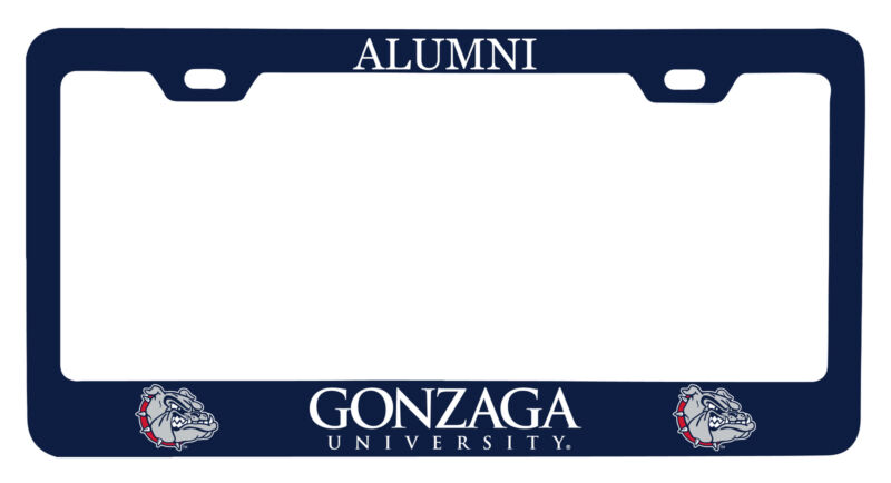 Gonzaga Bulldogs Alumni License Plate Frame New for 2020
