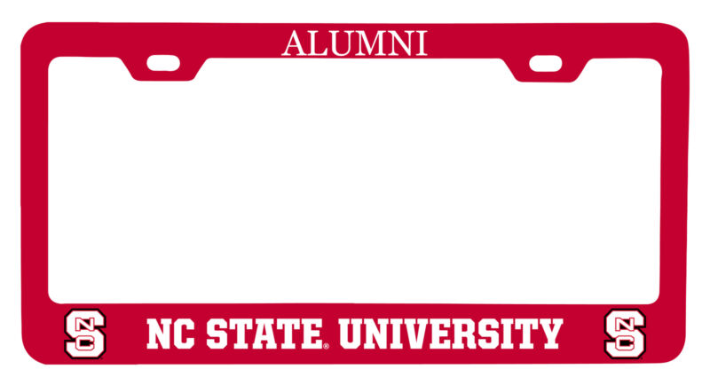 NC State Wolfpack Alumni License Plate Frame New for 2020