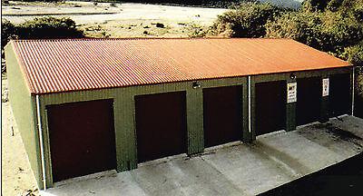 Steel Insulated 6-car Garage - Metal Building - Shop Kit