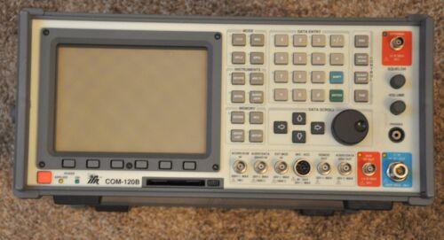 Aeroflex IFR Com 120B Communication Service Monitor 62 Hrs 1GHz Tracking Gen