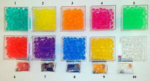 perles d 39 eau billes de gel art floral d coration vases