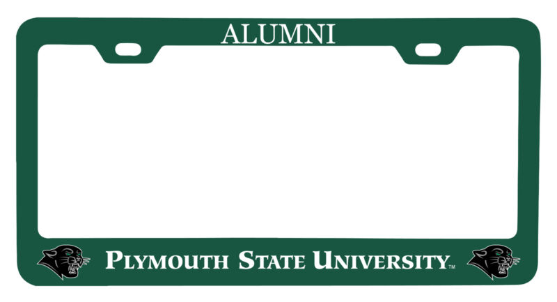 Plymouth State University Alumni License Plate Frame New for 2020