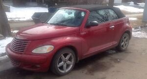 2007 PT Cruiser convertible turbo gt