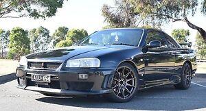 2001 Nissan Skyline Coupe Carlton Melbourne City Preview