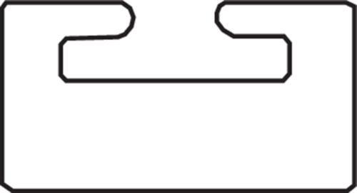 GARLAND SLIDE, SKI-DOO BLACK 01-4700-1-01-01